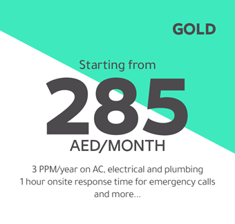 Gold starting from 285 AED/month