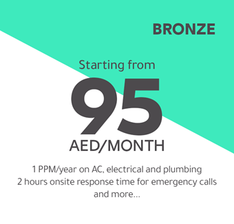 Bronze starting from 95 AED/month