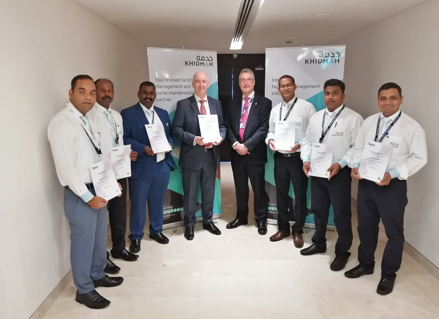 Khidmah Accredited for Soft Facilities Management Services